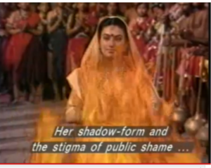 Sita-Agni Pariksha